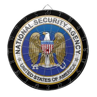 Tablero de dardo nacional de la agencia de