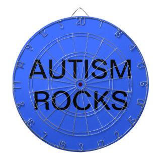 Tablero de dardo (rocas del autismo)