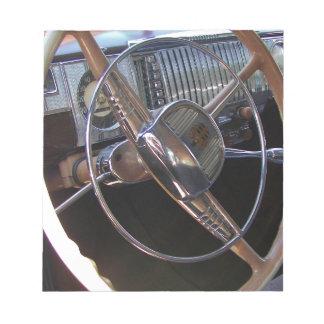 Tablero de instrumentos clásico de Dodge Bloc De Notas