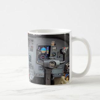 Tablero de instrumentos de la repetición de la taza de café
