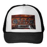 tablero de instrumentos de los instrumentos de la gorra