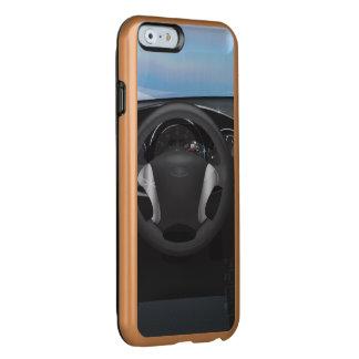 Tablero de instrumentos del coche de deportes funda para iPhone 6 plus incipio feather shine