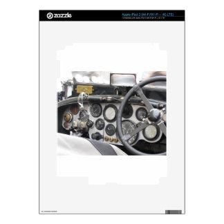 Tablero de instrumentos del coche deportivo pegatina skin para iPad 3