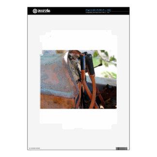 Tablero de instrumentos del tractor de correa calcomanía para iPad 2