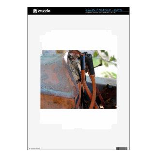 Tablero de instrumentos del tractor de correa pegatinas skins para iPad 3