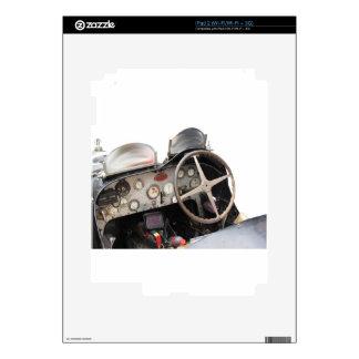 Tablero de instrumentos y volante del coche iPad 2 skins