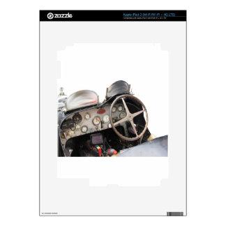 Tablero de instrumentos y volante del coche pegatina skin para iPad 3