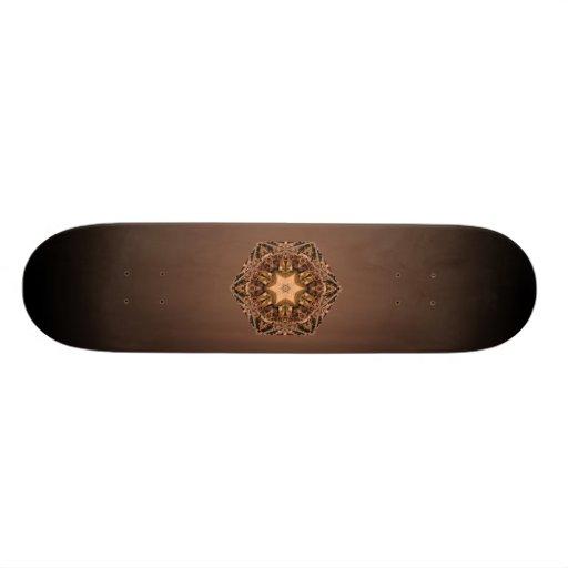 Tablero de la aguja del pino patines personalizados