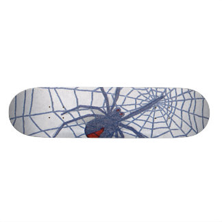 Tablero de la araña patines personalizados