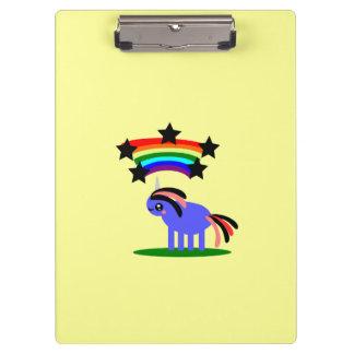 Tablero de la estrella del arco iris del unicornio