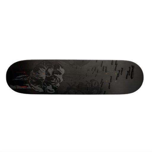Tablero de la guerra tabla de patinar