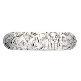 tablero de la hornilla de la corona skateboard