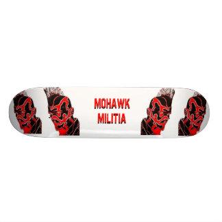 Tablero de la MILICIA Sk8 del MOHAWK Tabla De Skate