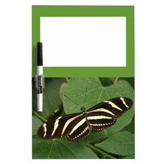 Tablero de la nota de la mariposa de Longwing de l Tableros Blancos