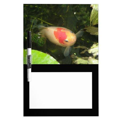 Tablero de la nota del Goldfish Tableros Blancos
