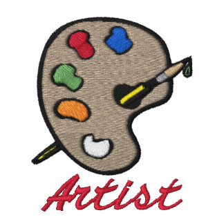 Tablero de la pintura del artista