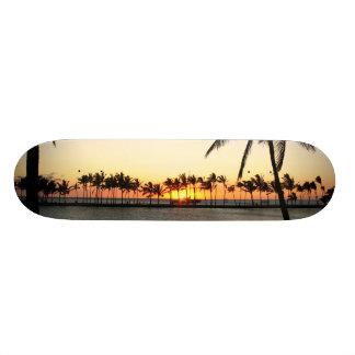 Tablero de la puesta del sol de Kona Monopatin Personalizado