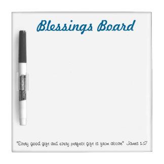 Tablero de las bendiciones: Ideas cristianas del w Pizarras