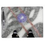 Tablero de mensajes del hielo/centro de centro del pizarra