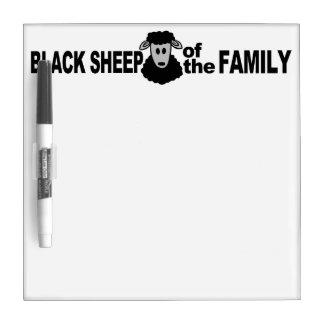 Tablero de mensajes del personalizado de las oveja pizarras blancas