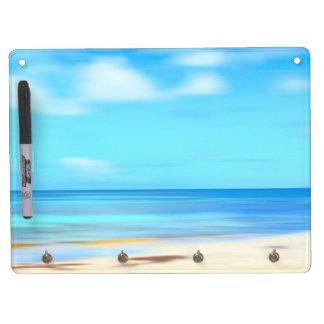 Tablero de mensajes seco del borrado de la playa d pizarras blancas de calidad
