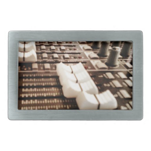 Tablero de mezcla (fotografía) hebilla cinturon rectangular