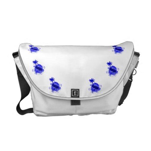 Tablero de resaca azul bolsas messenger