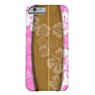 Tablero de resaca de PixDezines+hibisco/fondo diy Funda Para iPhone 6 Barely There