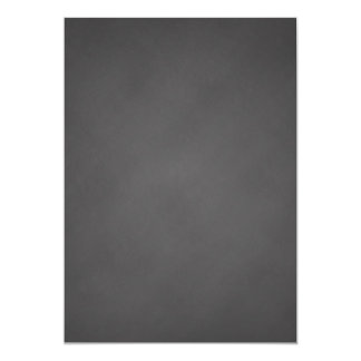 """Tablero de tiza gris del negro del fondo de la invitación 5"""" x 7"""""""
