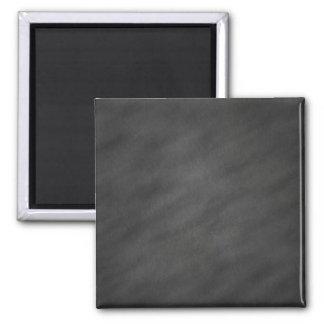 Tablero de tiza negro gris del fondo de la pizarra imán cuadrado