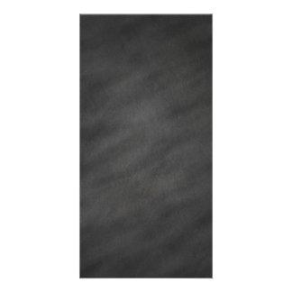 Tablero de tiza negro gris del fondo de la pizarra tarjetas personales