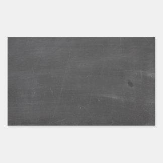 Tablero de tiza rectangular pegatina