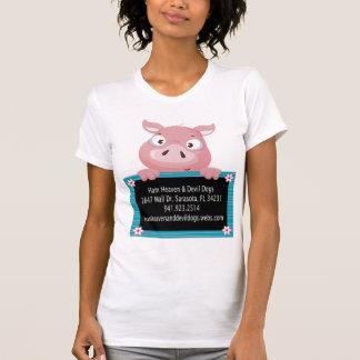 Tablero de tiza camisetas