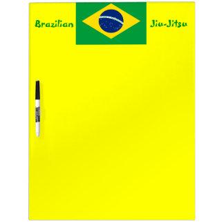 Tablero del borrador (BJJ) de Jiu-Jitsu del brasil Tableros Blancos