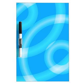 """Tablero del borrador de los """"círculos azules"""" pizarras"""