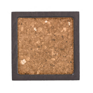 Tablero del corcho cajas de joyas de calidad