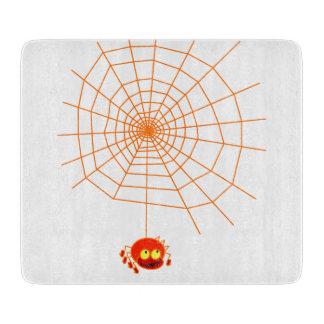 Tablero del corte del vidrio de Halloween del Web Tabla Para Cortar