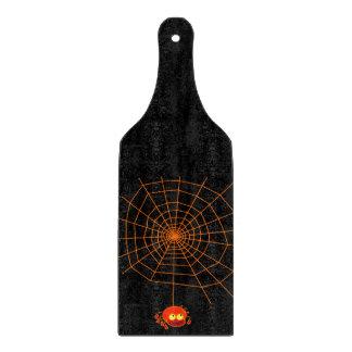 Tablero del corte del vidrio de Halloween del Web Tablas De Cortar