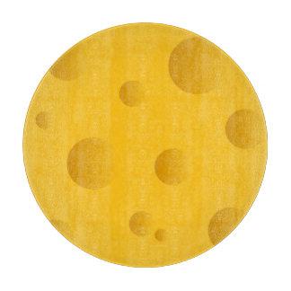 Tablero del corte del vidrio del queso suizo el | tabla de cortar