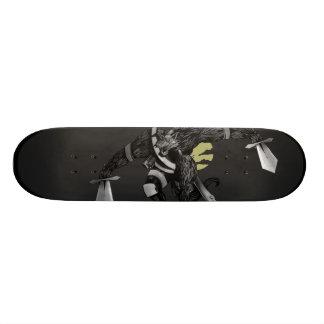 Tablero del hombre lobo tablas de skate