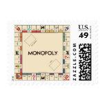 Tablero del juego del monopolio del vintage franqueo