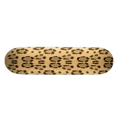 """tablero del leopardo patineta 7 3/4"""""""