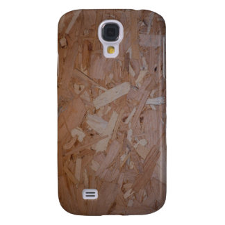 Tablero del pedazo de madera funda para galaxy s4
