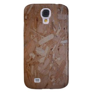 Tablero del pedazo de madera funda samsung s4