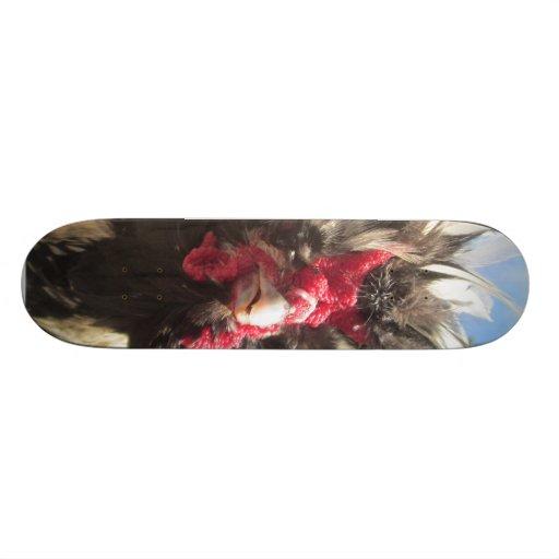 tablero del pollo tablas de patinar