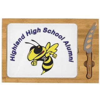 Tablero del queso de los alumnos de la High School