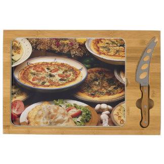 Tablero del queso del diseño de la foto de la