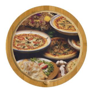 Tablero del queso del diseño de la foto de las