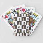 Tablero del rey ajedrez baraja de cartas
