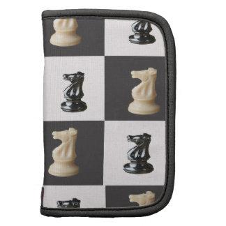 Tablero del rey ajedrez planificadores